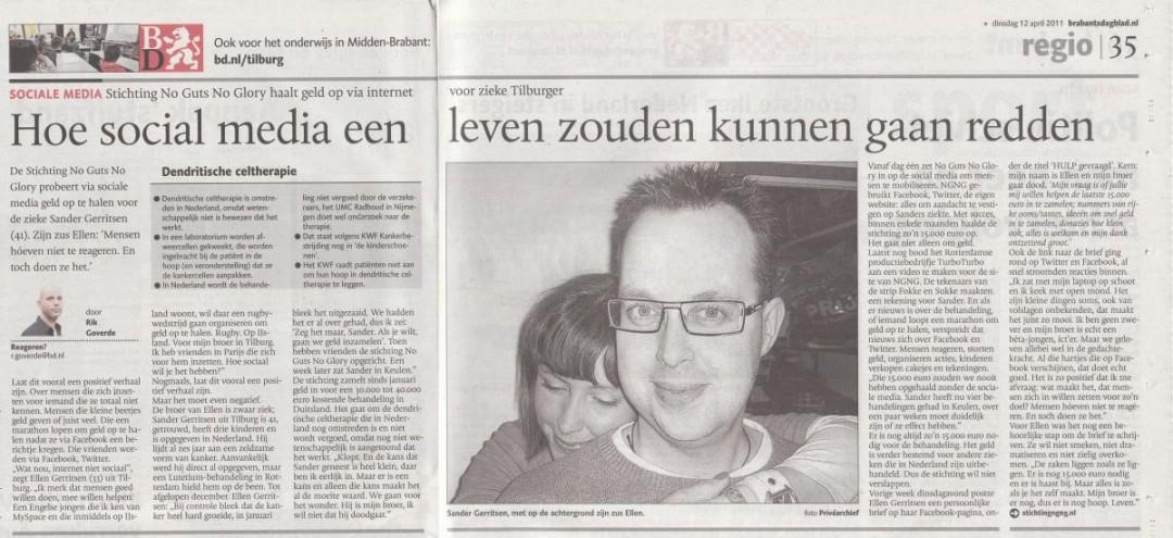 2011-04-12   Social Media   Brabands Dagblad