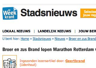 2014-02-19 | Marathon | De Week Krant