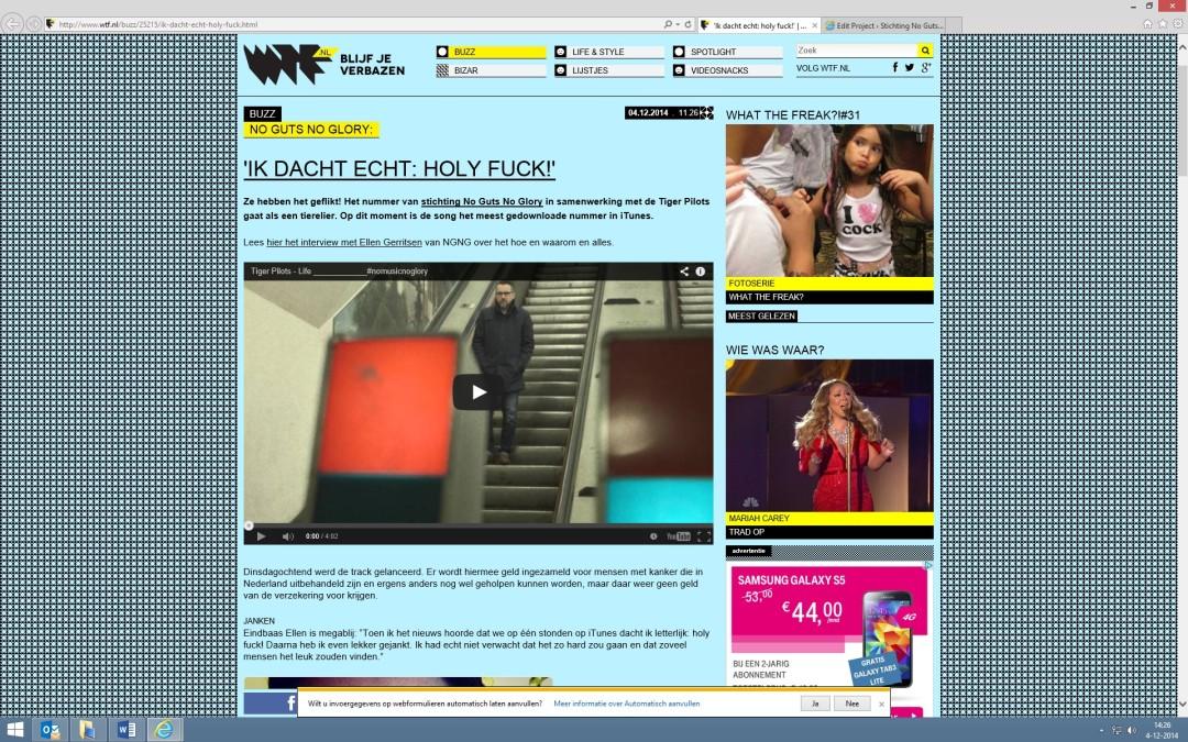 2014-12-04 |'Ik dacht echt: holy fuck!'| wtf.nl
