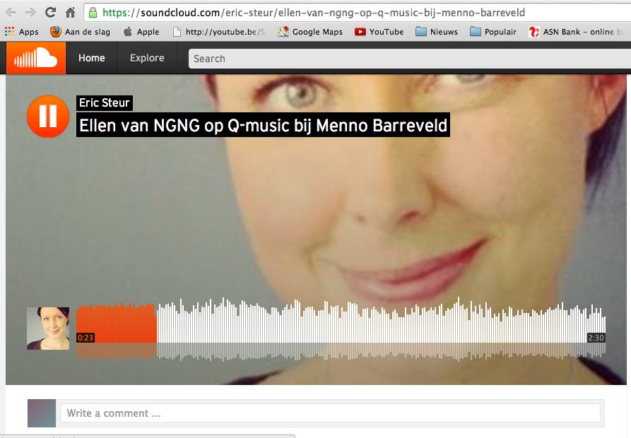 2014-12-04 |Ellen op Q-music bij Menno Barreveld |Q-music