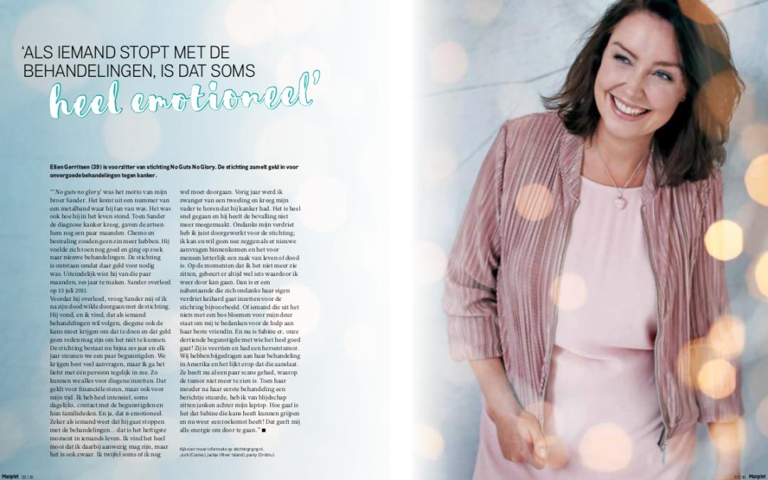 2016-12-16 | Interview voorzitter Ellen Gerritsen over NGNG |Margriet